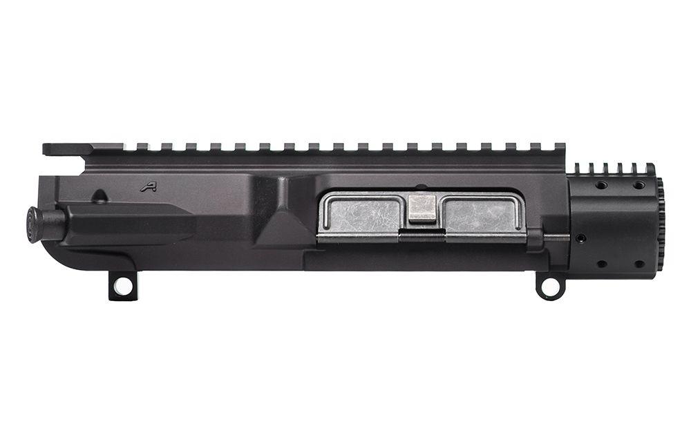 Aero Precision  M5E1 Enhanced Upper Receiver 7075-T6 Aluminum Black Anodized with Forward Assist, Port Door & Barrel Nut for M5