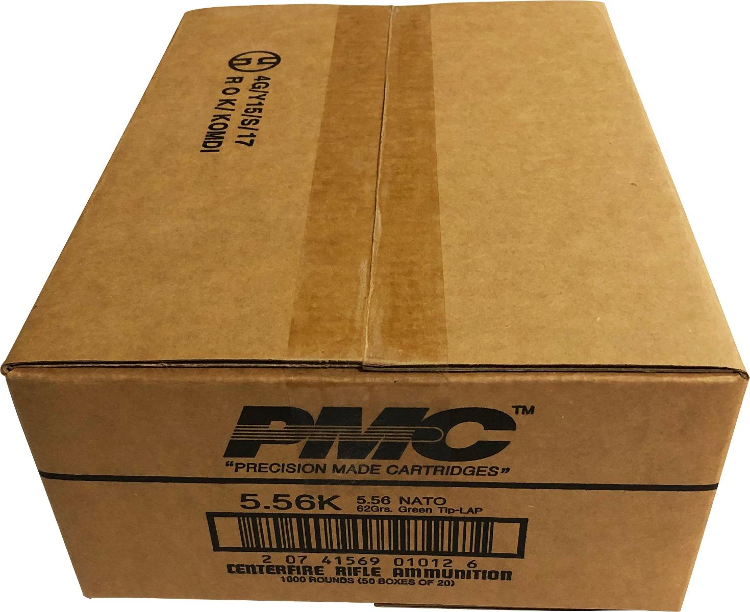 PMC X-TAC 5.56NATO Rifle Ammo - 62 Grain | LAP | 1 Case (50 boxes)