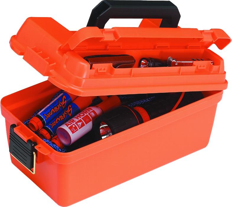 Plano 141250 Marine Box Shallow Dry Storage 15x8x6 Orange