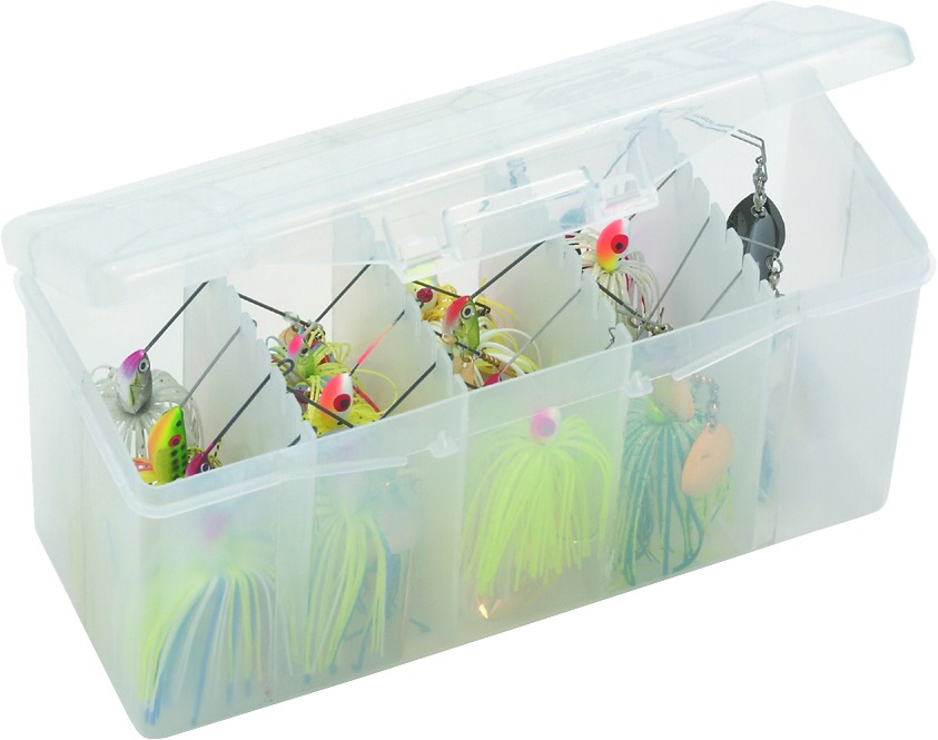Plano 350400 Spinner Bait w/Removable Racks Clear