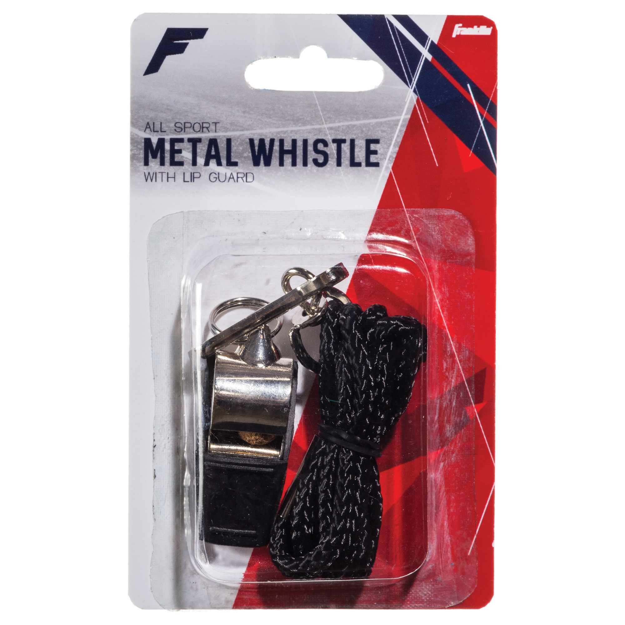 Franklin 1711 Metal Whistle W/Rubber Tip