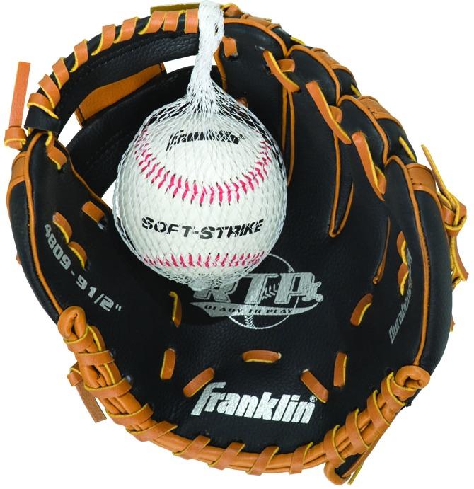 Franklin 4809TBSL Glove W/Ball 9.5