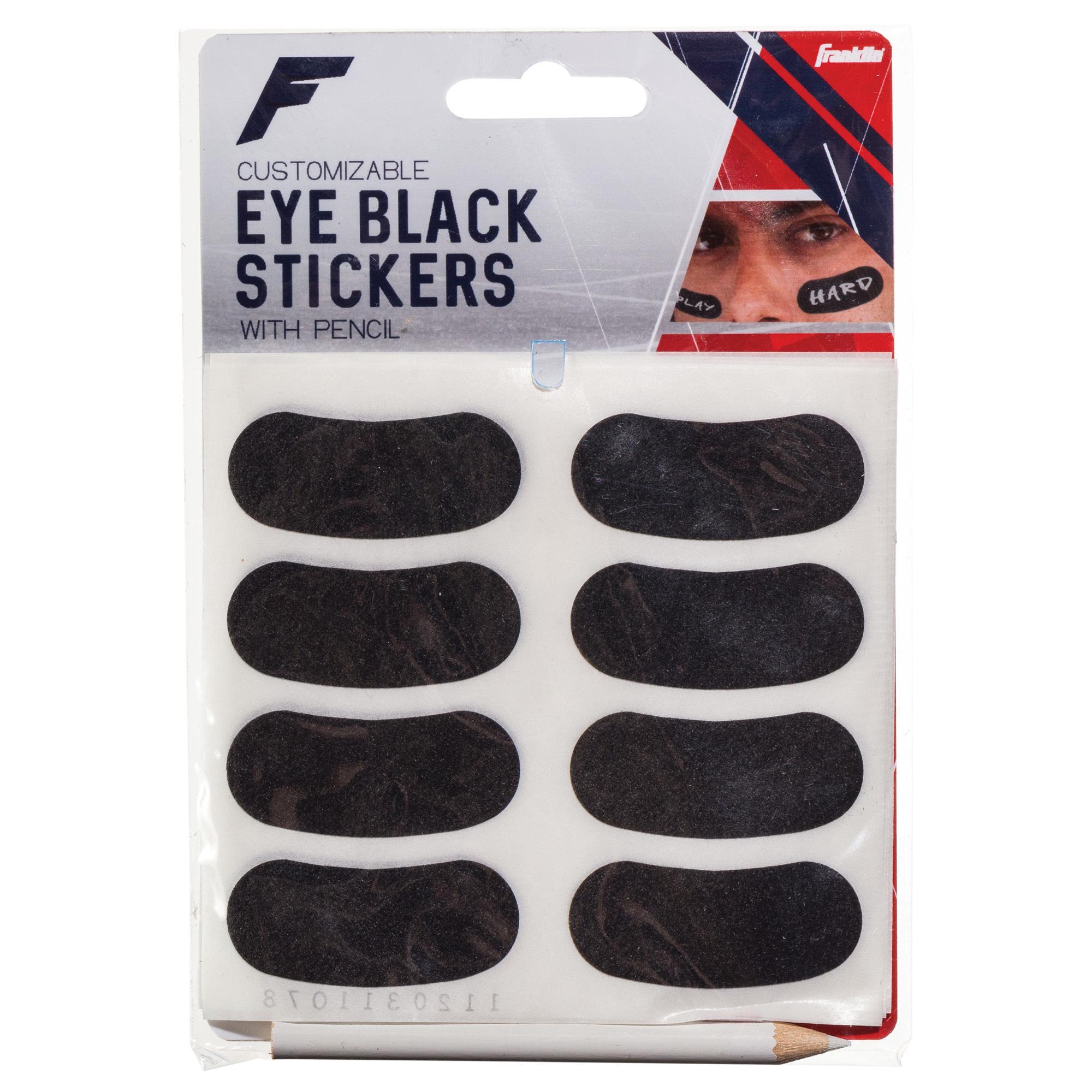 Franklin 11392S11 Eye Black Stickers 6Pk