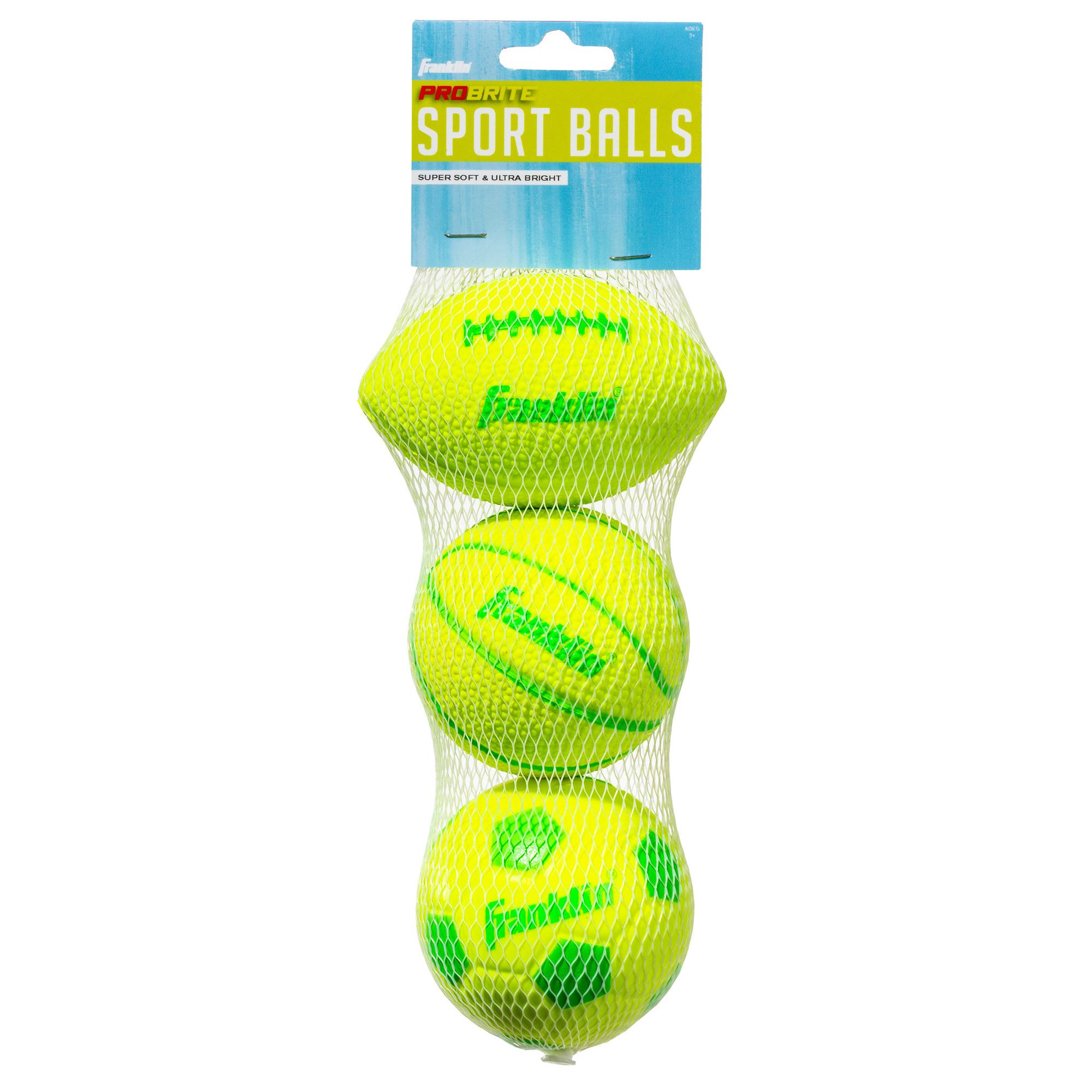 Franklin 60223 Probrite Micro 3-Ball Pack
