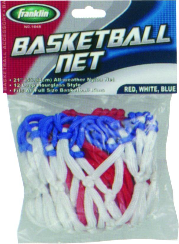 Franklin 1648 Basketball Net Rnbw Nylon
