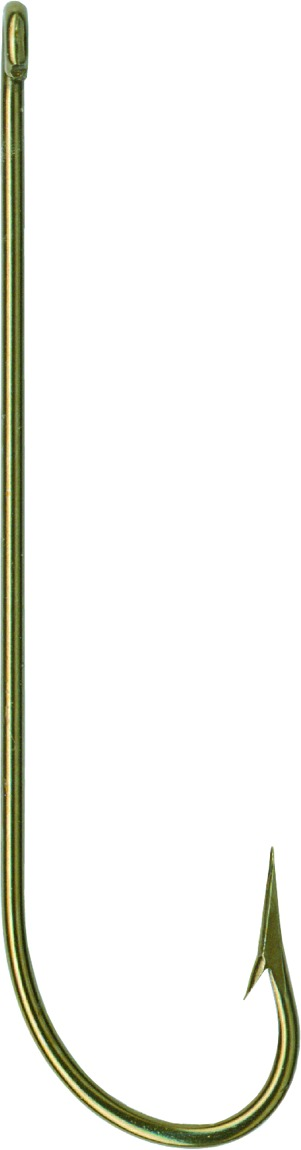 Mustad Carlisle Hook Ringed-Bronze Size 2 10 Count