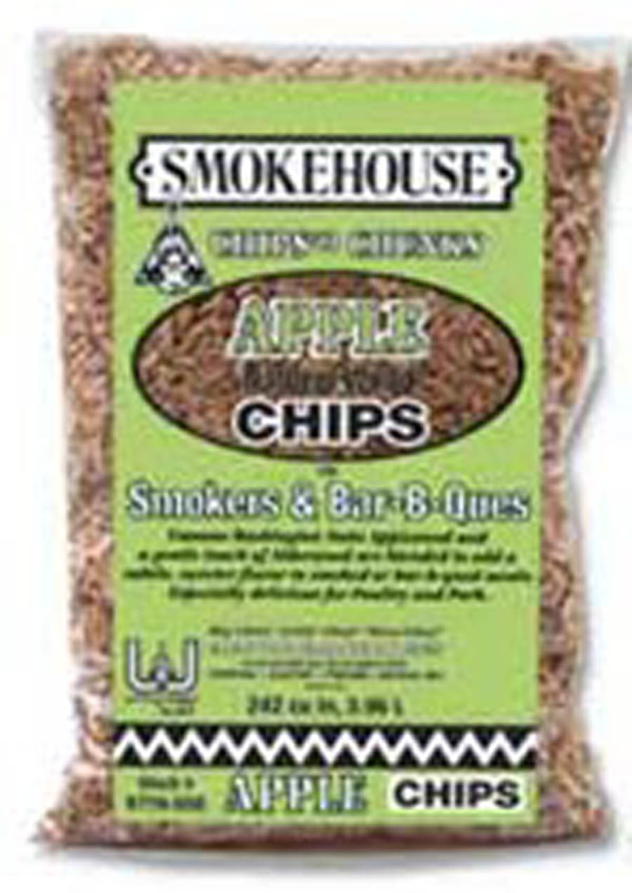 Smokehouse 9770-000-0000 Wood Chips 1.75 Lb Bag Apple