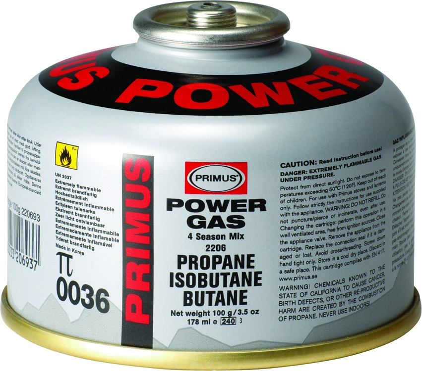 Primus P-220693 100G Powergas Canister Fuel (40Z)/Pk24