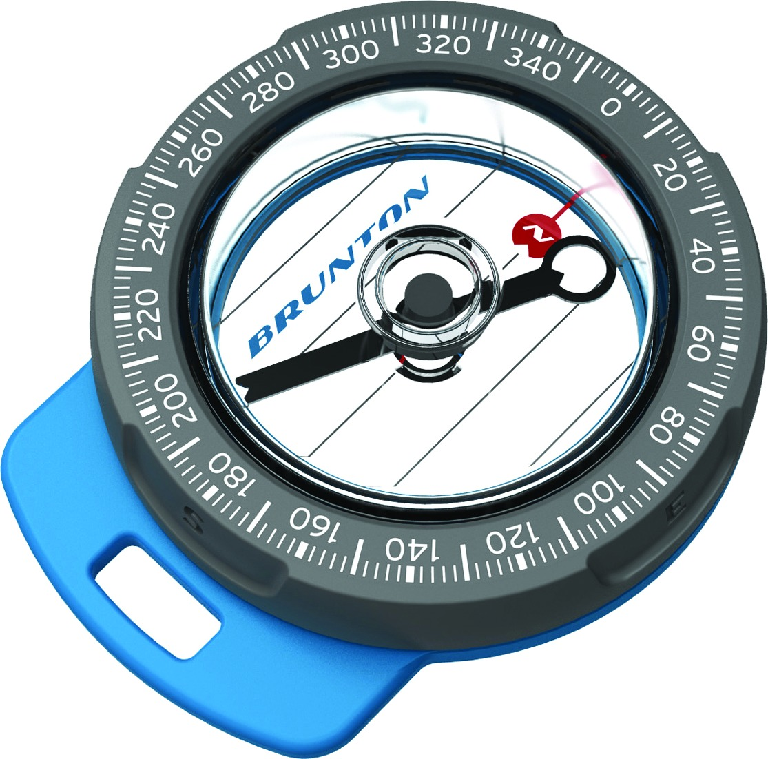 Brunton F-TAZIP Tag Along Zipper Pull Compass