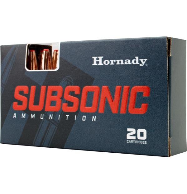 Hornady 82247 Subsonic  450 Bushmaster 395 GR Sub-X 20 Bx/ 10 Cs