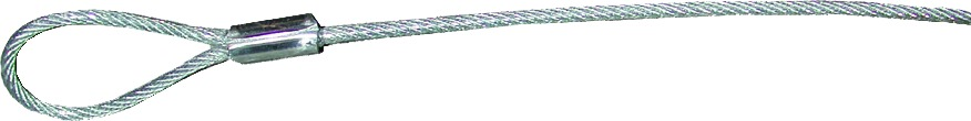 Tie Down 50608 Clear Coated Cable 30-1/2