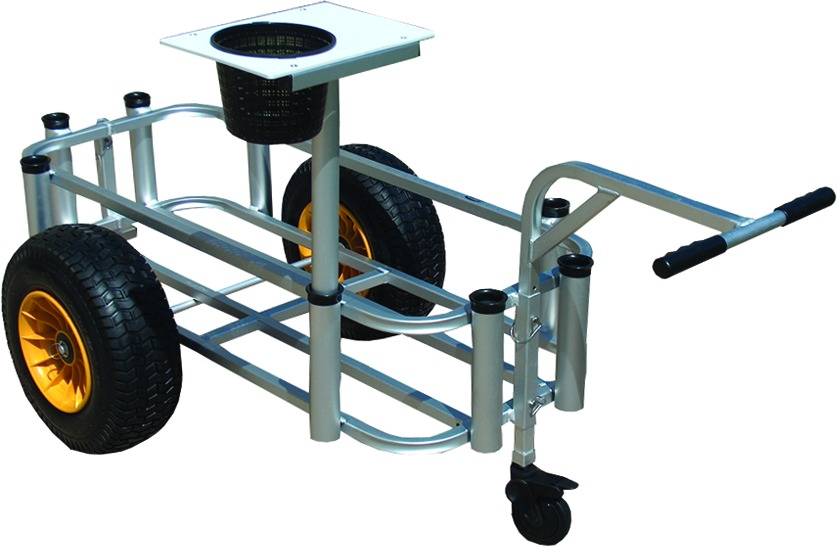 Fish-N-Mate 433 Large Surf & Pier Cart With Front Wheel