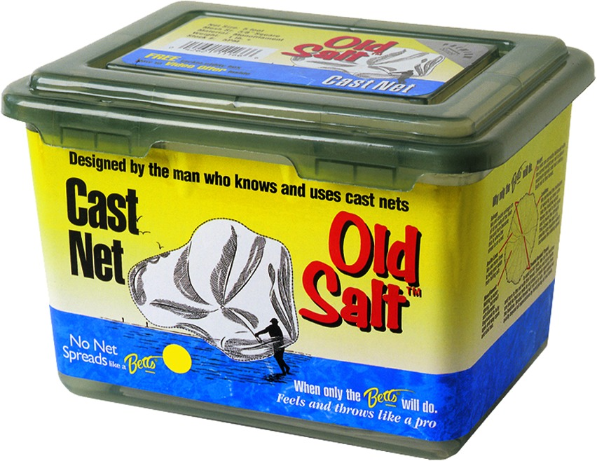 Betts 4PM Old Salt Mono Cast Net 4' 3/8