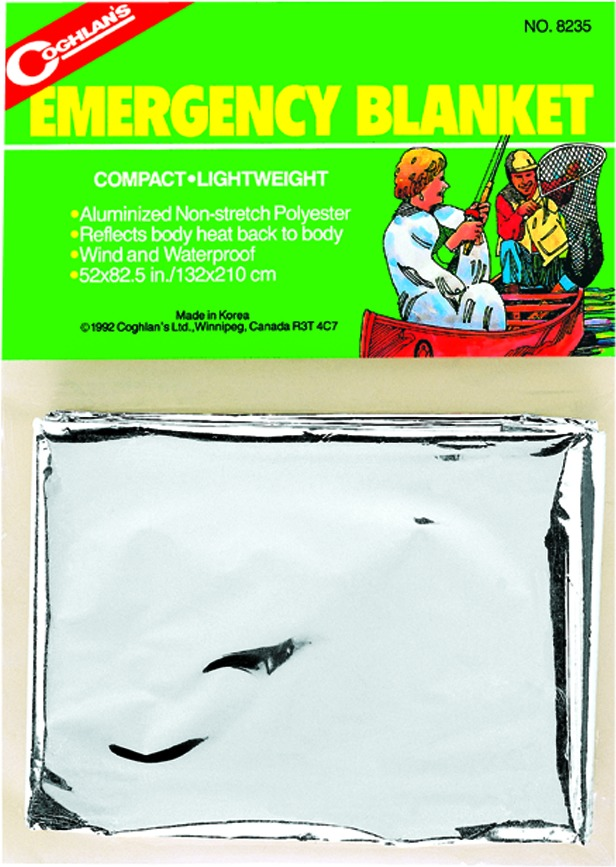 Coghlans 8235 Emergency Blanket Wind/Waterproof 53