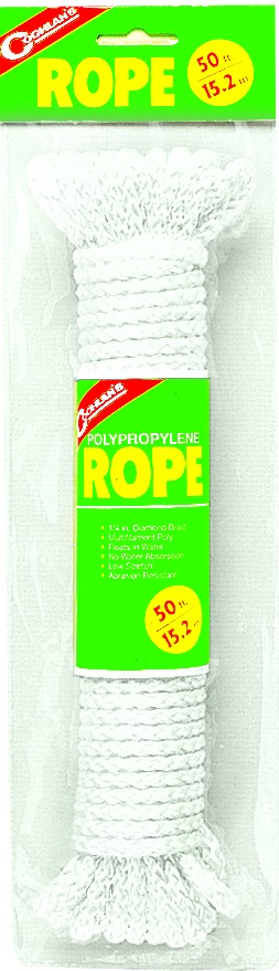 Coghlans 0020 Poly Rope 50'