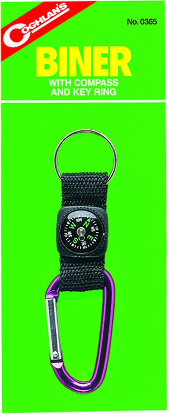 Coghlans 0365 Biners/Compass Key Ring
