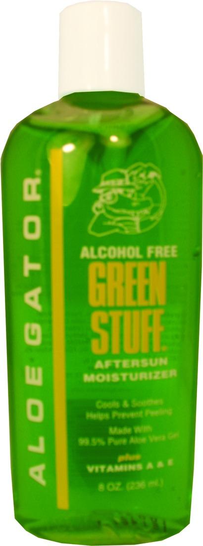 Aloe Gator 10185 Green Stuff Aloe Vera Gel Moisturizer, 8oz