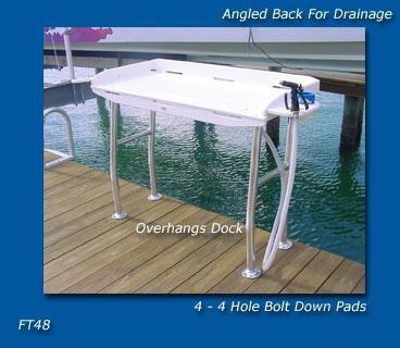 Deep Blue FT48 Dockside Filet Table 48