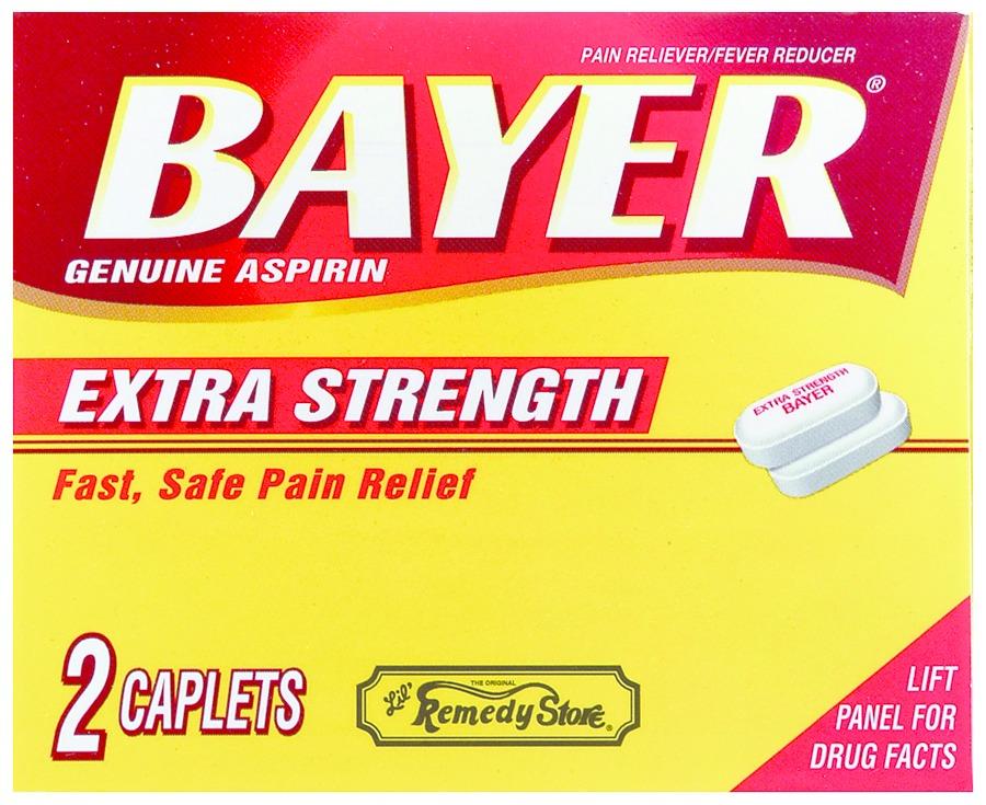 Marine Sports 1783 Aspirin 4 Caplet pack
