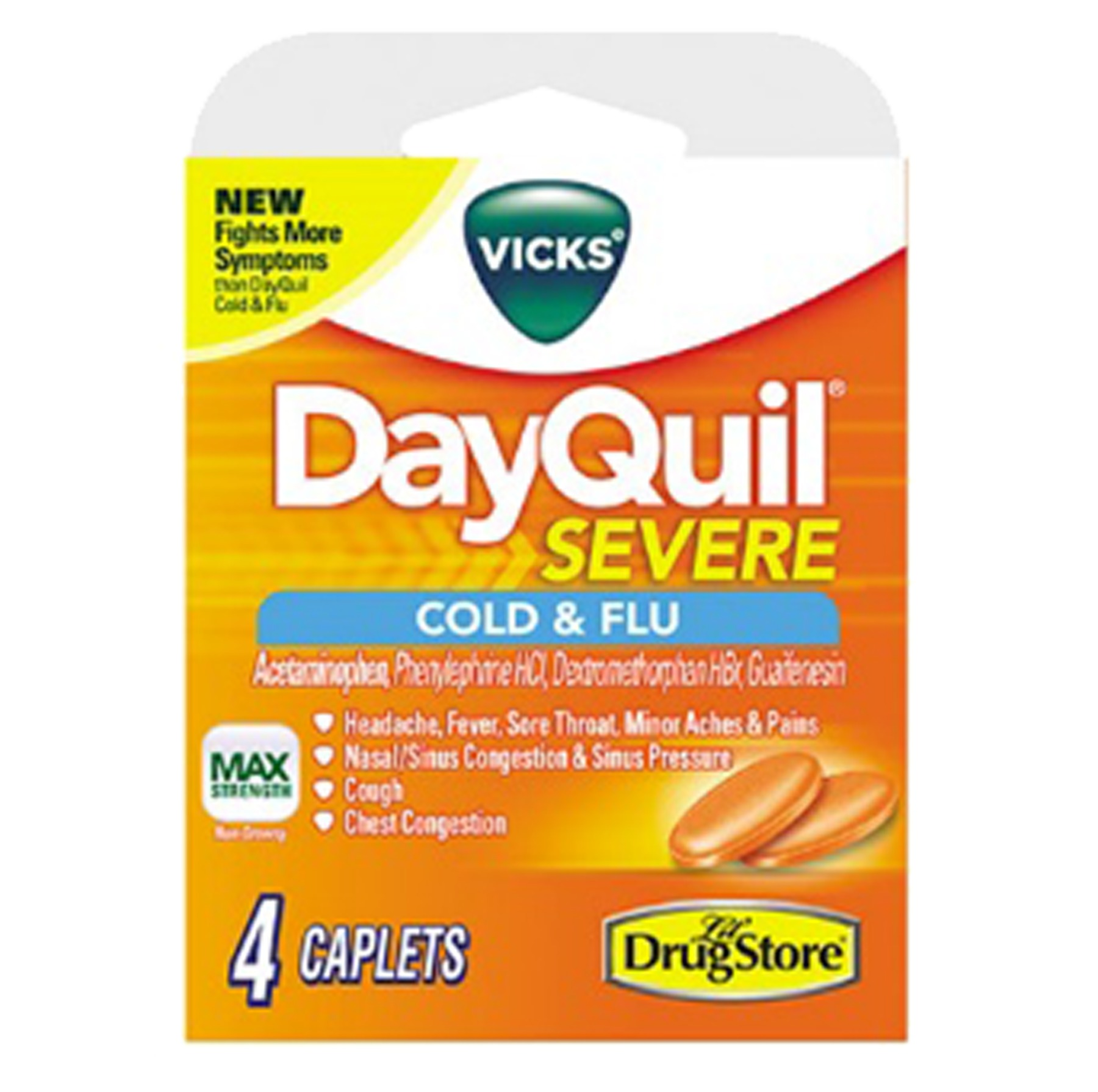 Dayquil 1770 Severe 4Ct