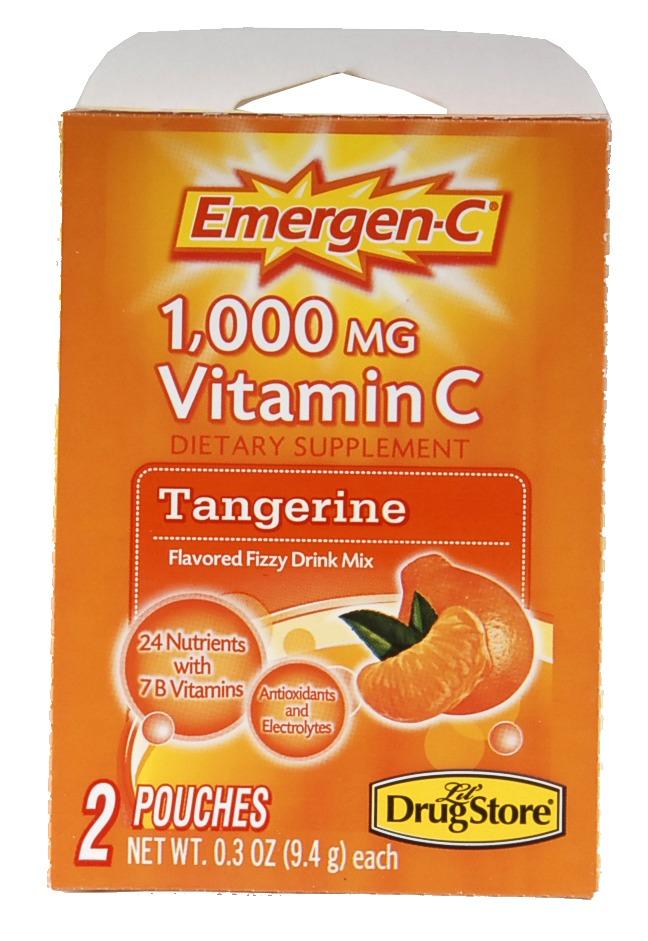 Emergen-C 1739 Tangerine Drink Mix - 2 Count