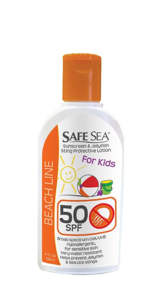 Safe Sea 1652 SPF 50 KIDS Protective Lotion/ Sunblock / Sting