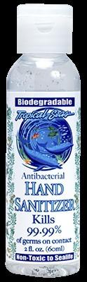 Marine Sports 1590 Naturally Clean Antibacterial Hand Sanitizer (2oz)