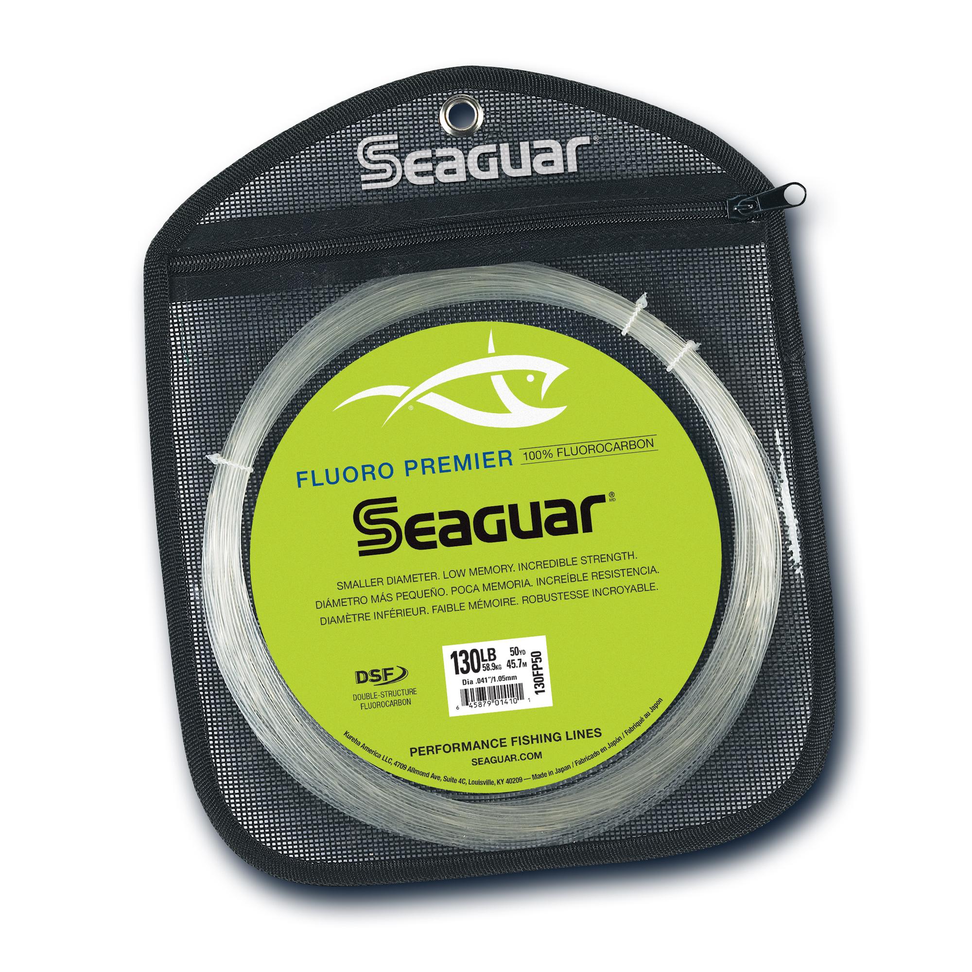 Seaguar Fluoro Premier Big Game Fishing Line 50 130LB