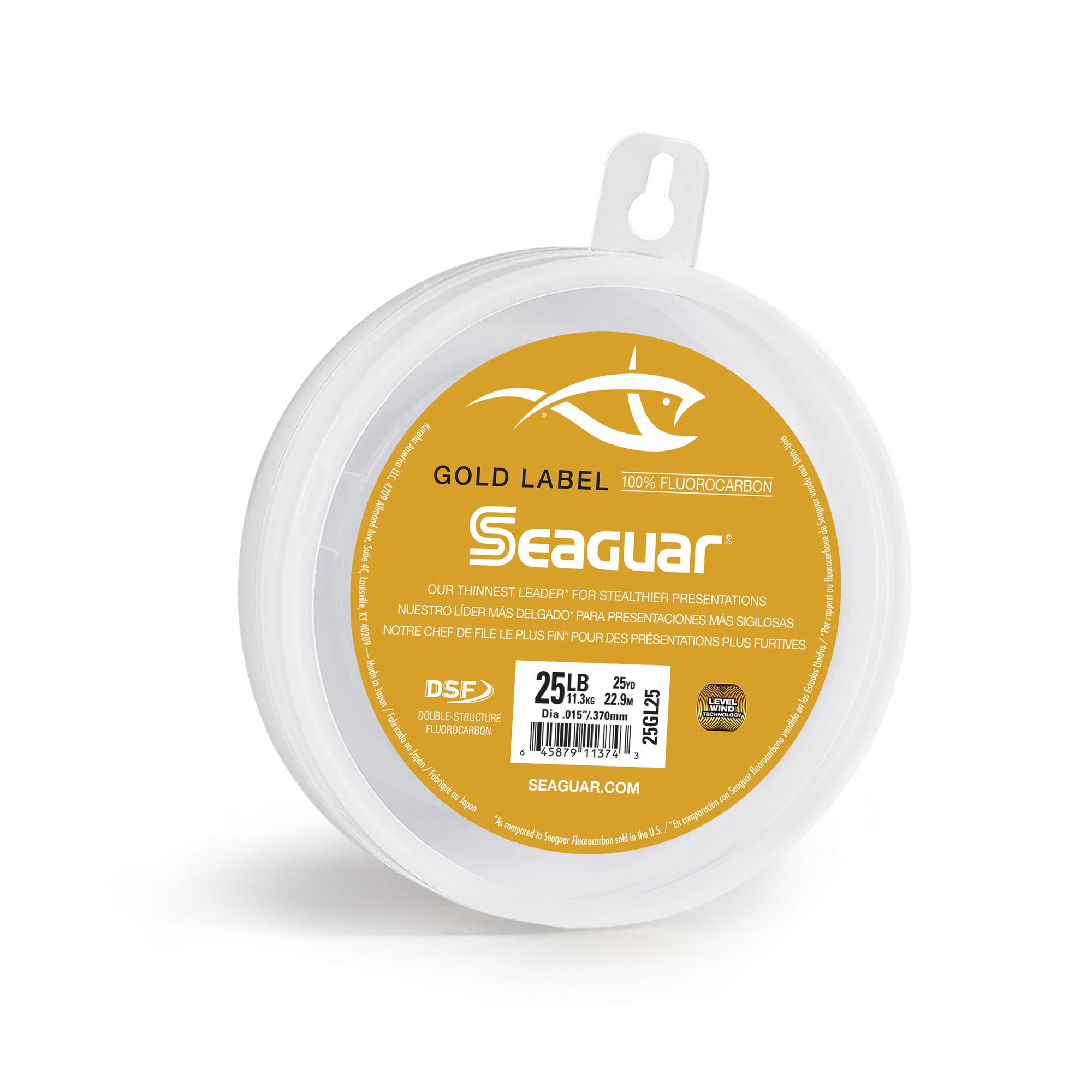 Seaguar Gold Label 25 25GL25 Flourocarbon Leader