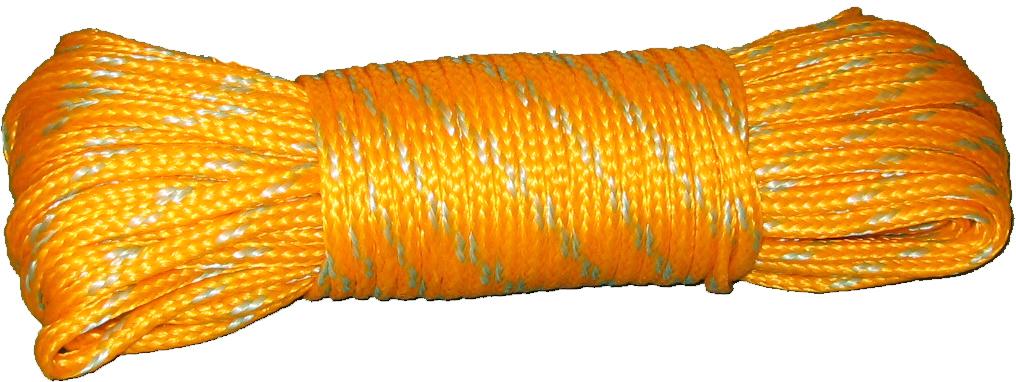 Promar NE-100 Poly Crab Line 100' Yellow/Green 1/4