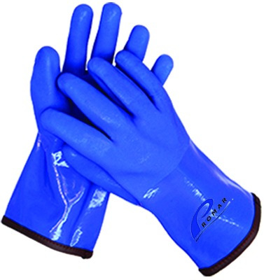 Promar GL-400B-L Insulated ProGrip Gloves Blue Large