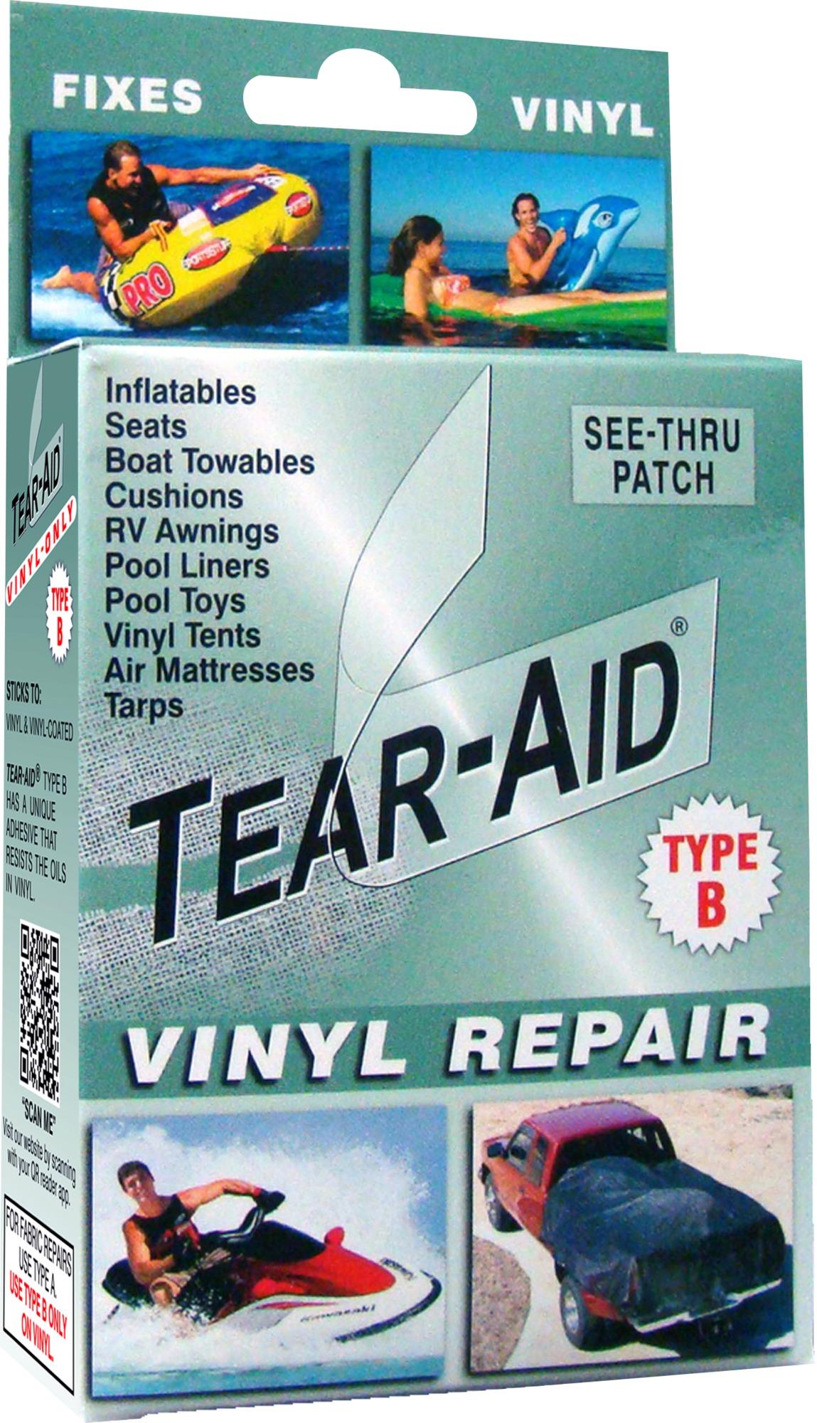 Tear-Aid TYPE B Vinyl Tear Repair