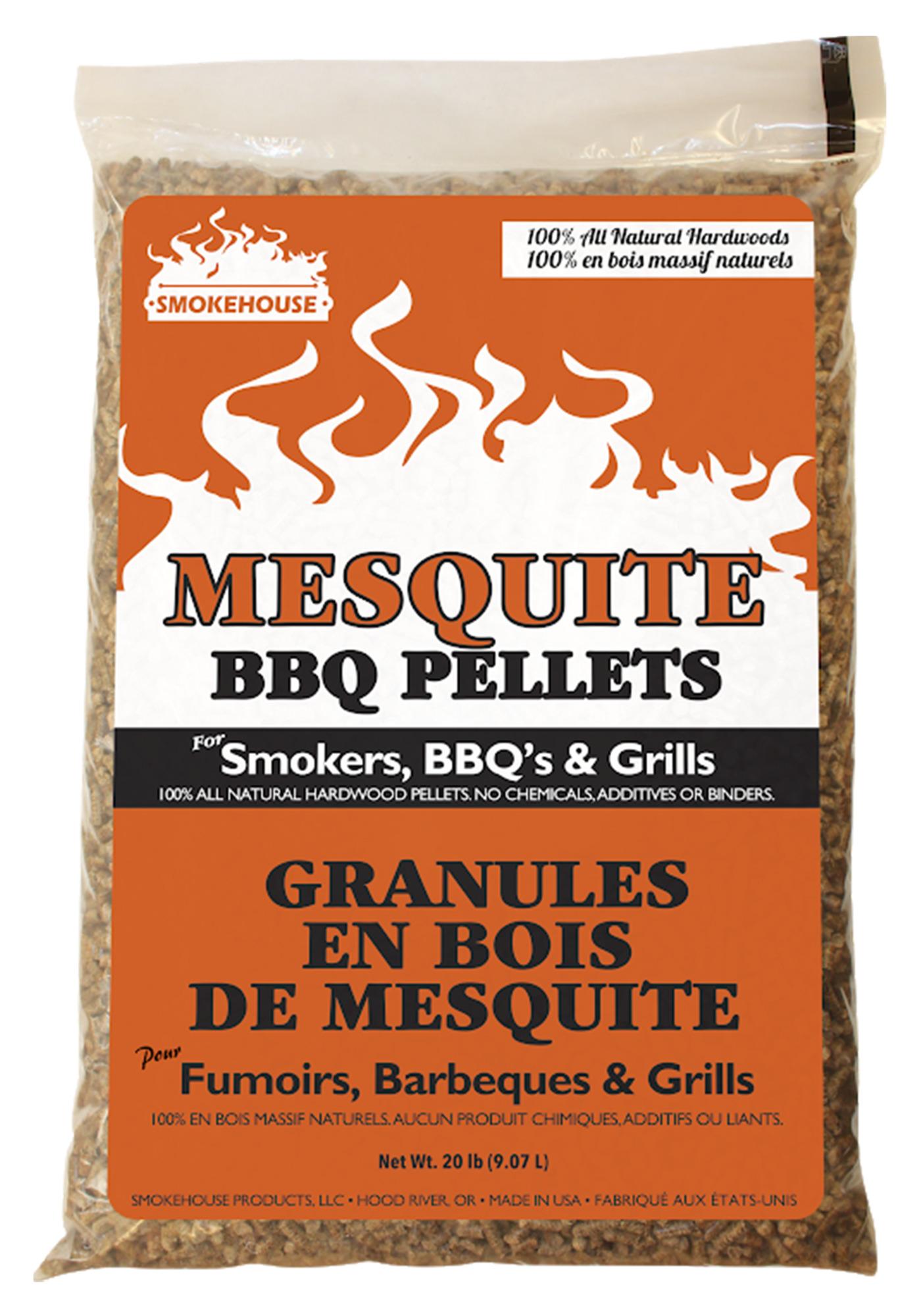 Smokehouse BBQ Pellets 20lb Bag Mesquite
