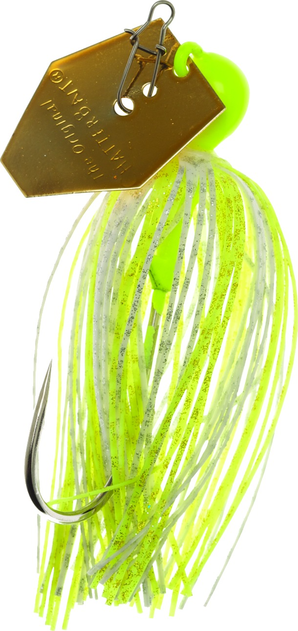 Zman Chatterbait Elite 0.375 Oz-Chartreuse White