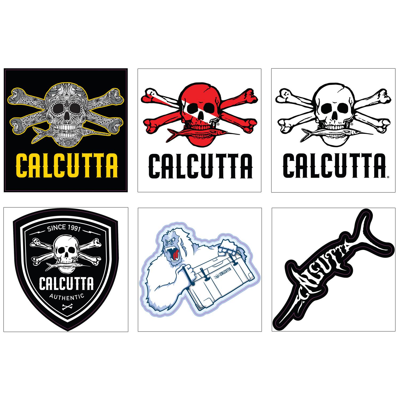 Calcutta CPD-1 Promo Decals Assortment #1