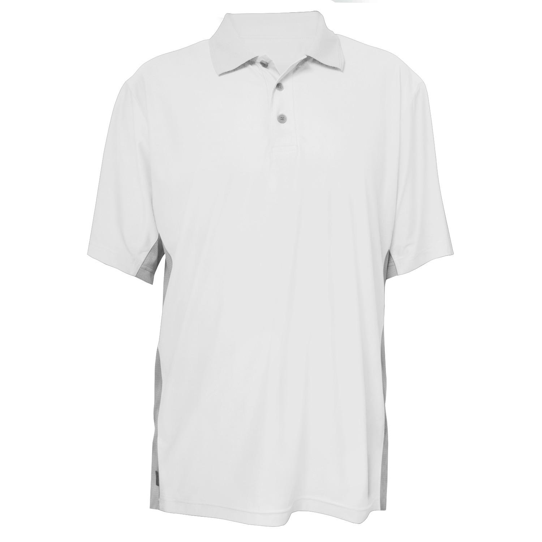 Calcutta C2001-WHT-L Performance Polo Shirt White Lg