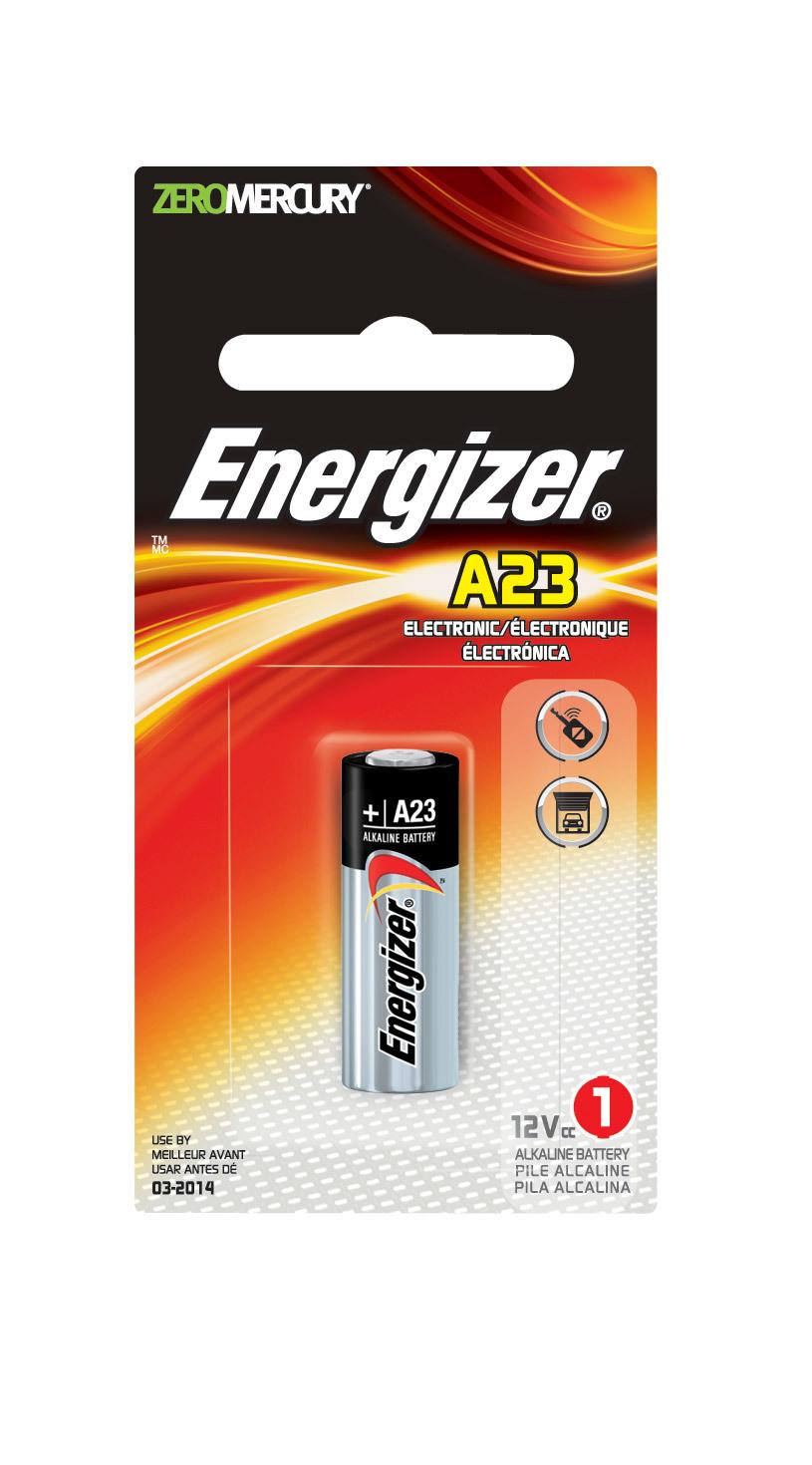 Energizer A23BPZ A23 Alkaline Keyless Entry Battery 1Pk