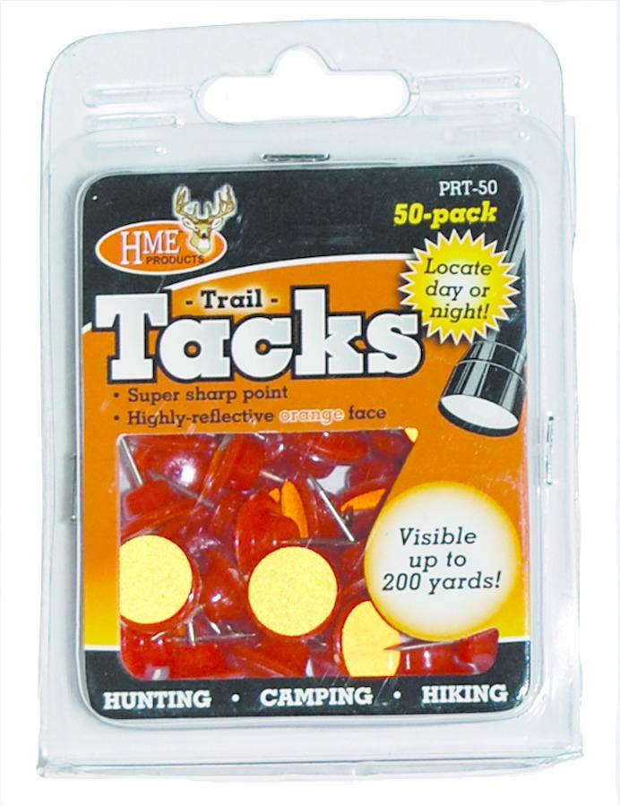 HME PRT-50 Reflective Trail Tacks Orange