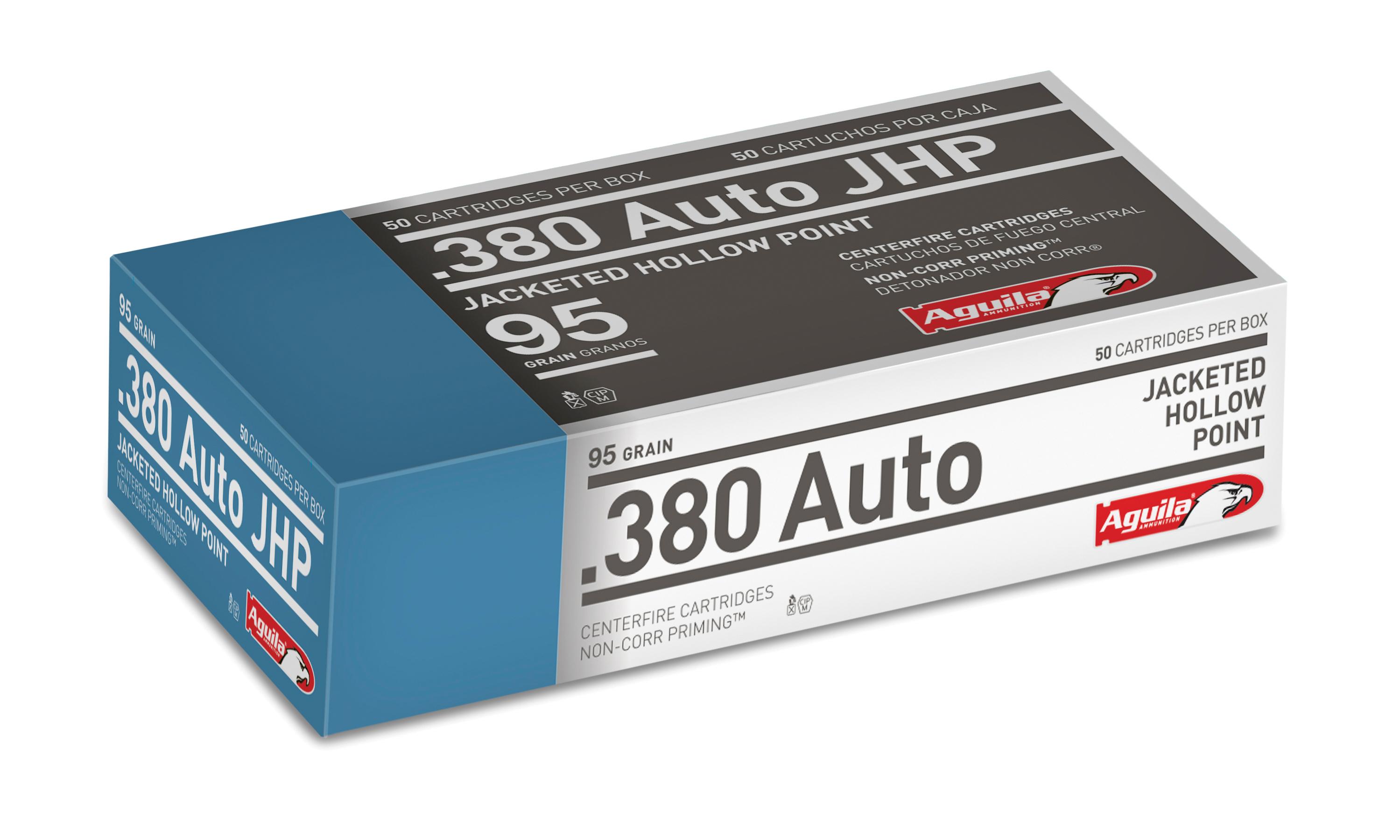 AGUILA 380ACP 90GR JHP 50/5000