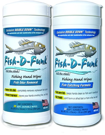 FISH-D-FUNK Wipes Fish Stink Removal -30/ Canister