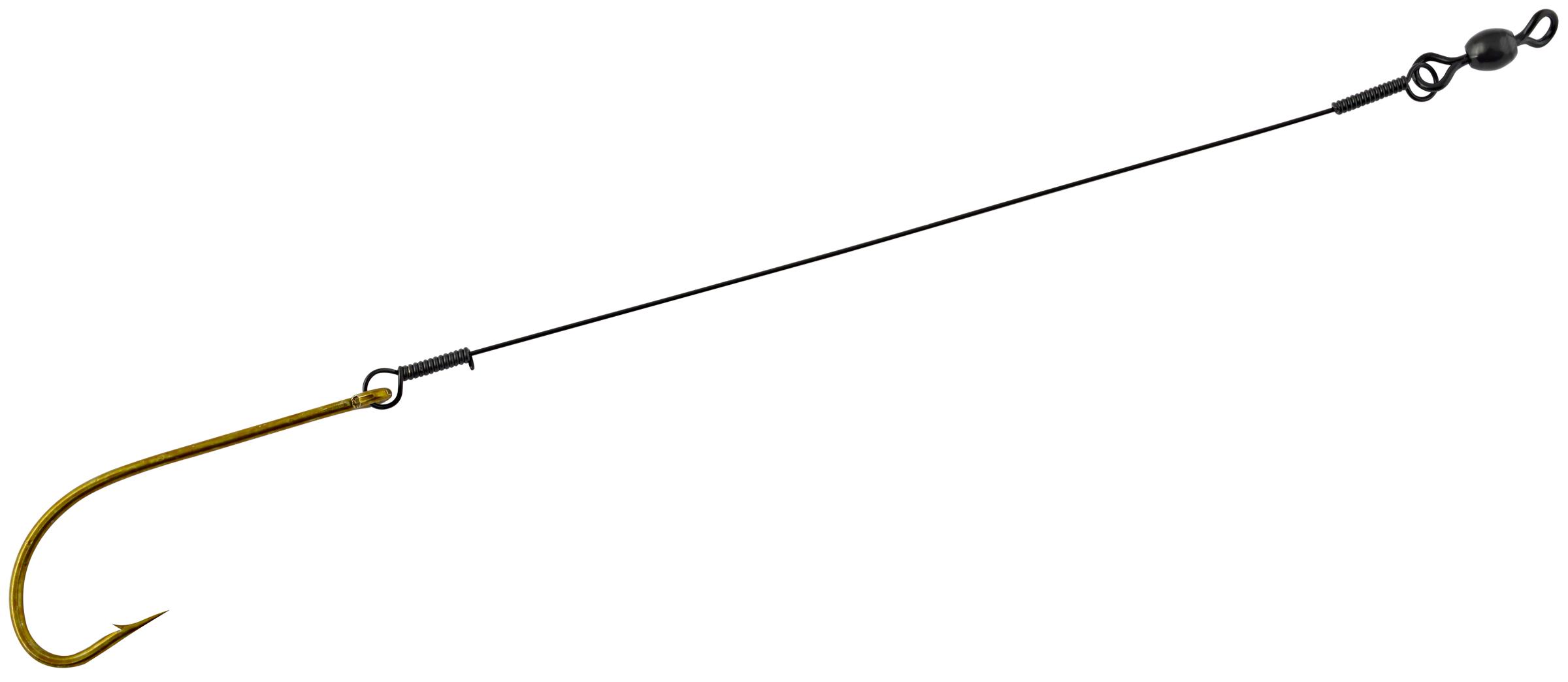 Hurricane BFH-50 Bluefish Hook W/Leader Sz-5/0