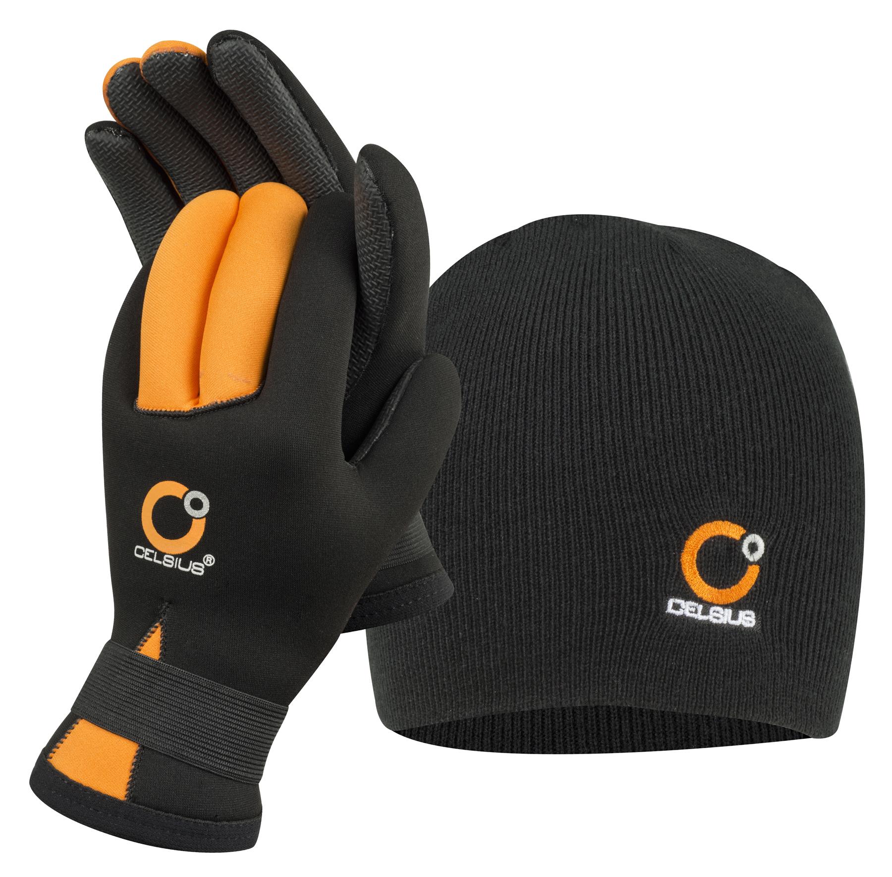 Celsius NG-HAT/L Neoprene Gloves/Hat L