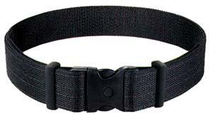 8801 PLN BLK DLX DUTY BELT MED