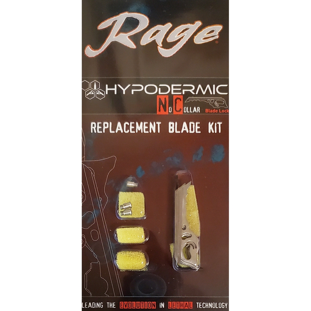 Rage Replacement Blade Kit  <br>  Hypodermic NC