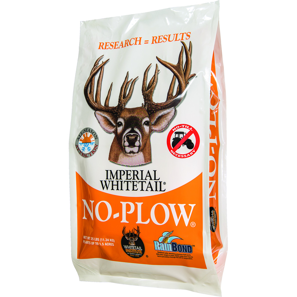 Whitetail Institute No-Plow Wildlife Seed Blend  <br>  25 lb.