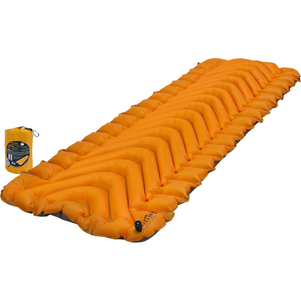 Klymit Insulated Static V Lite Sleeping Pad  <br>  Mango Orange