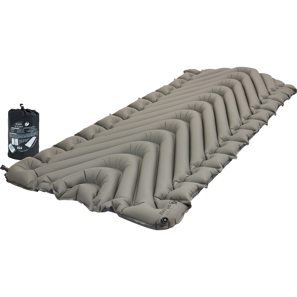 Klymit Static V Luxe Sleeping Pad  <br>  Stone