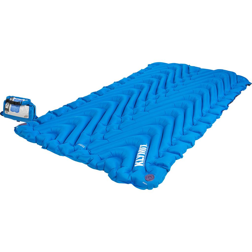 Klymit Double V Sleeping Pad  <br>  Blue