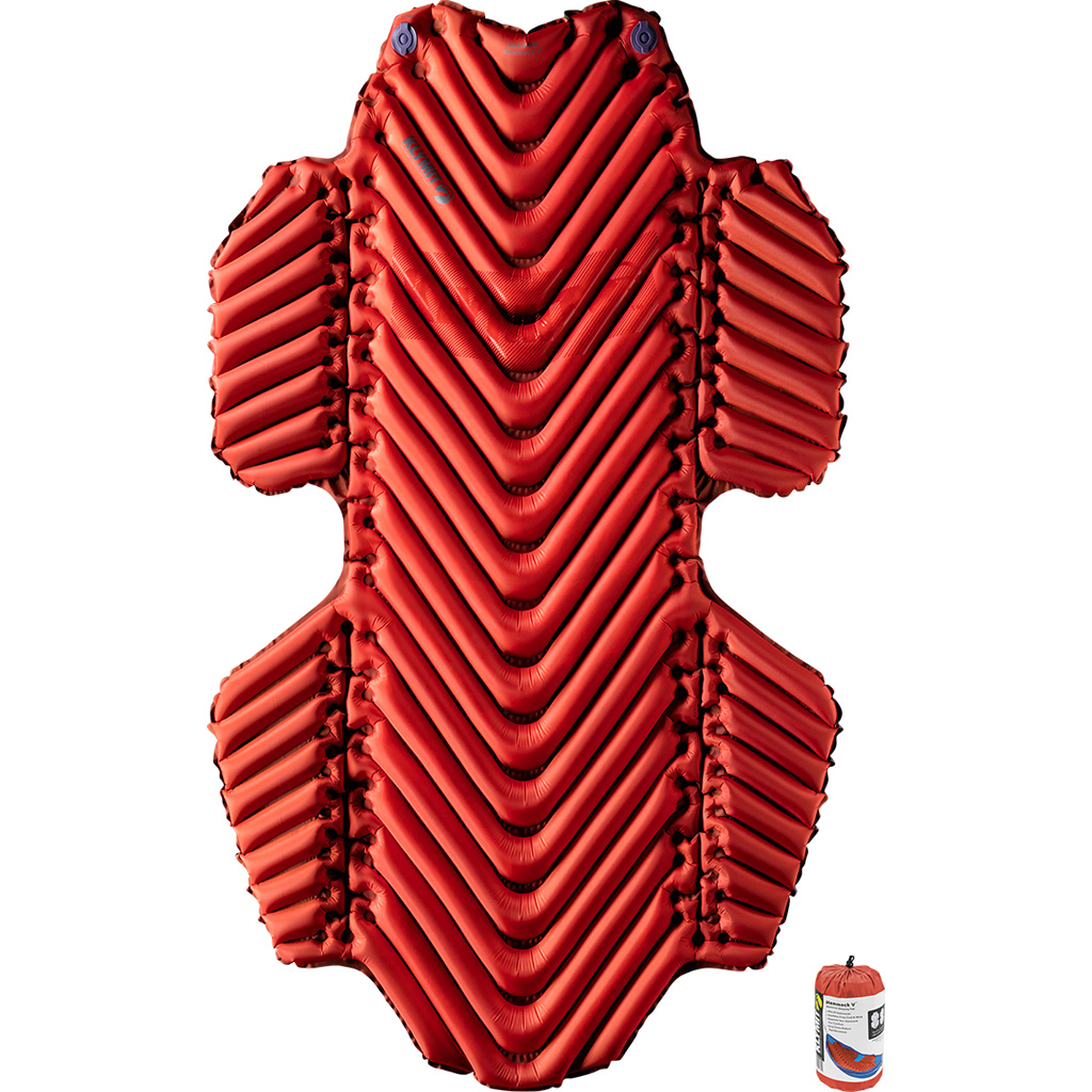 Klymit Insulated Hammock V Sleeping Pad  <br>  Red