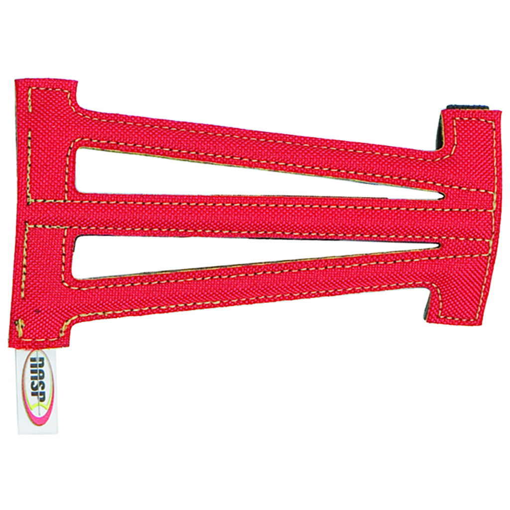 Neet NASP Ventilated Armguard  <br>  Red